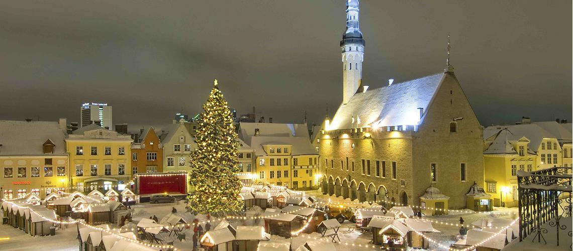Estonia at christmas