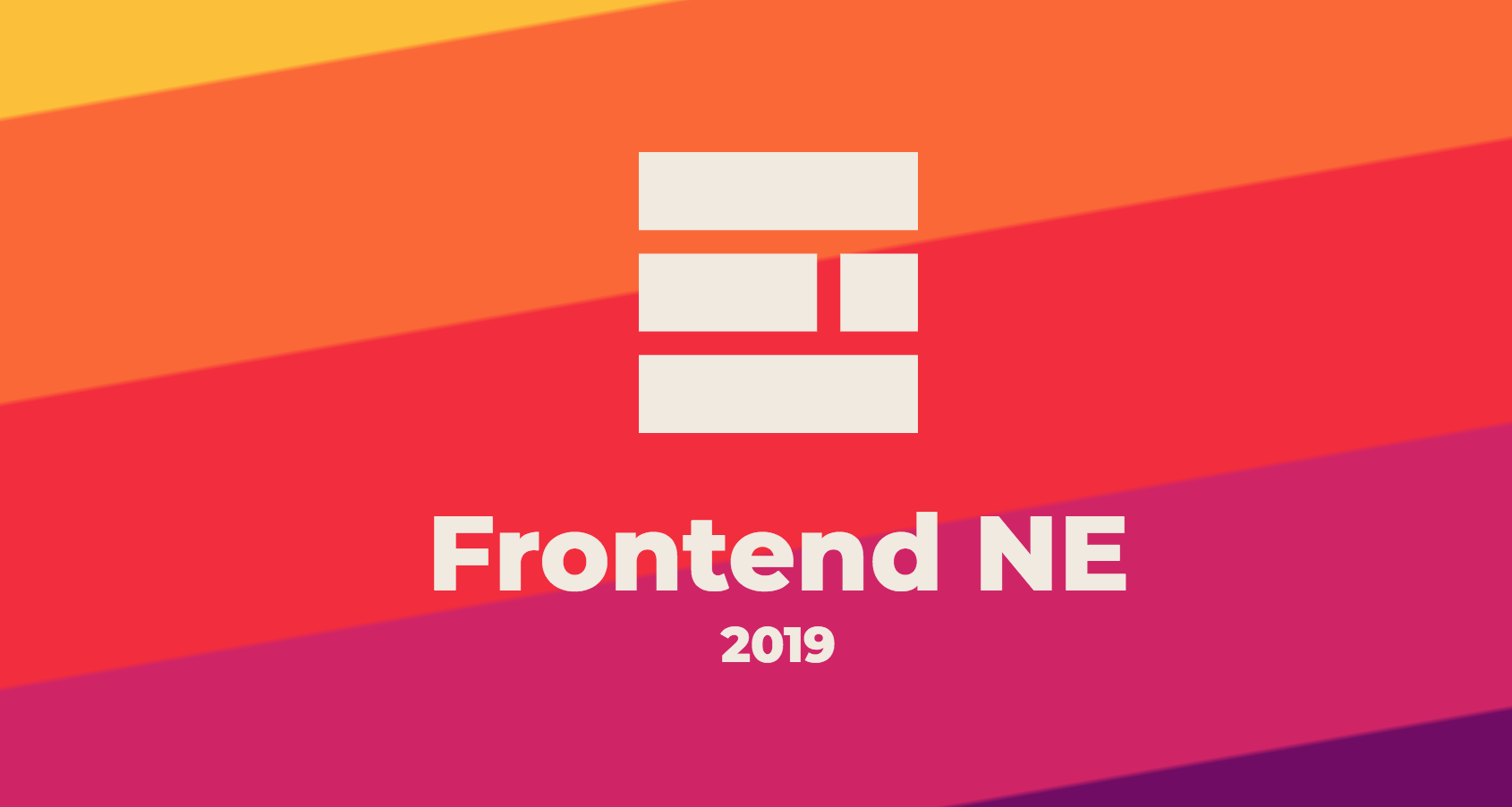 2019 Frontend Design Events