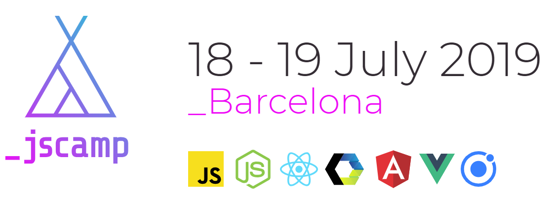 2019 JavaScript Conferences JSCamp