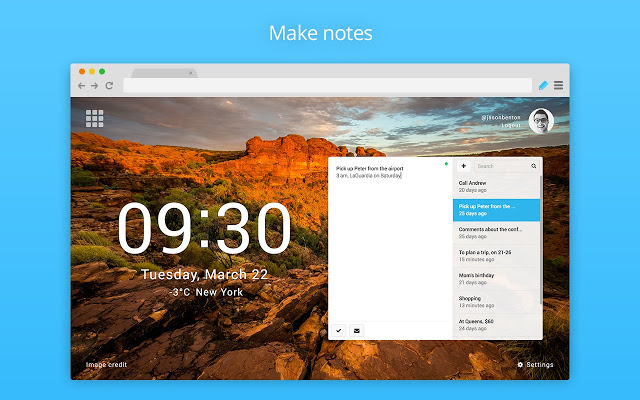 Productivity tools Knotes screenshot