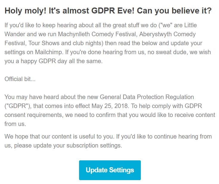 Machynlleth email