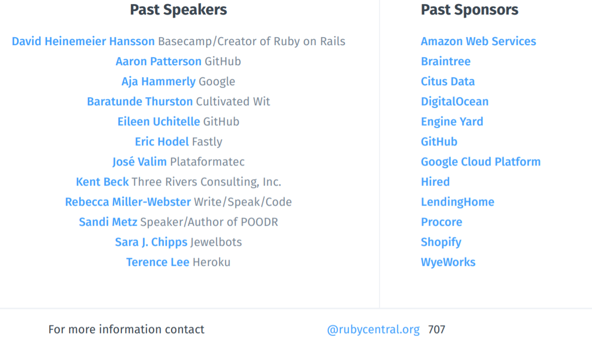 RailsConf 2019 Speakers and Sponsors-1