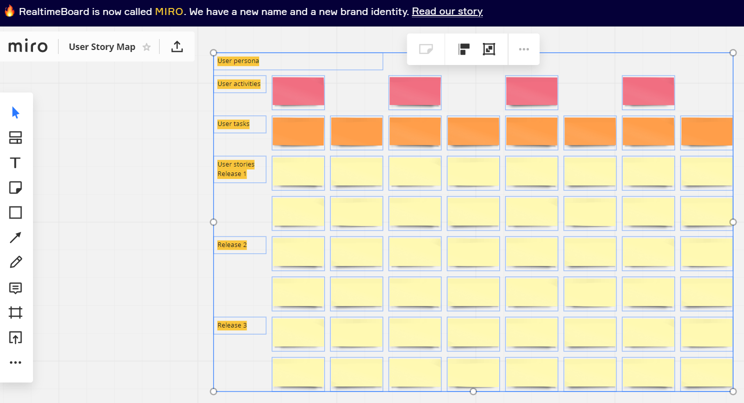 Productivity tools Realtime Board