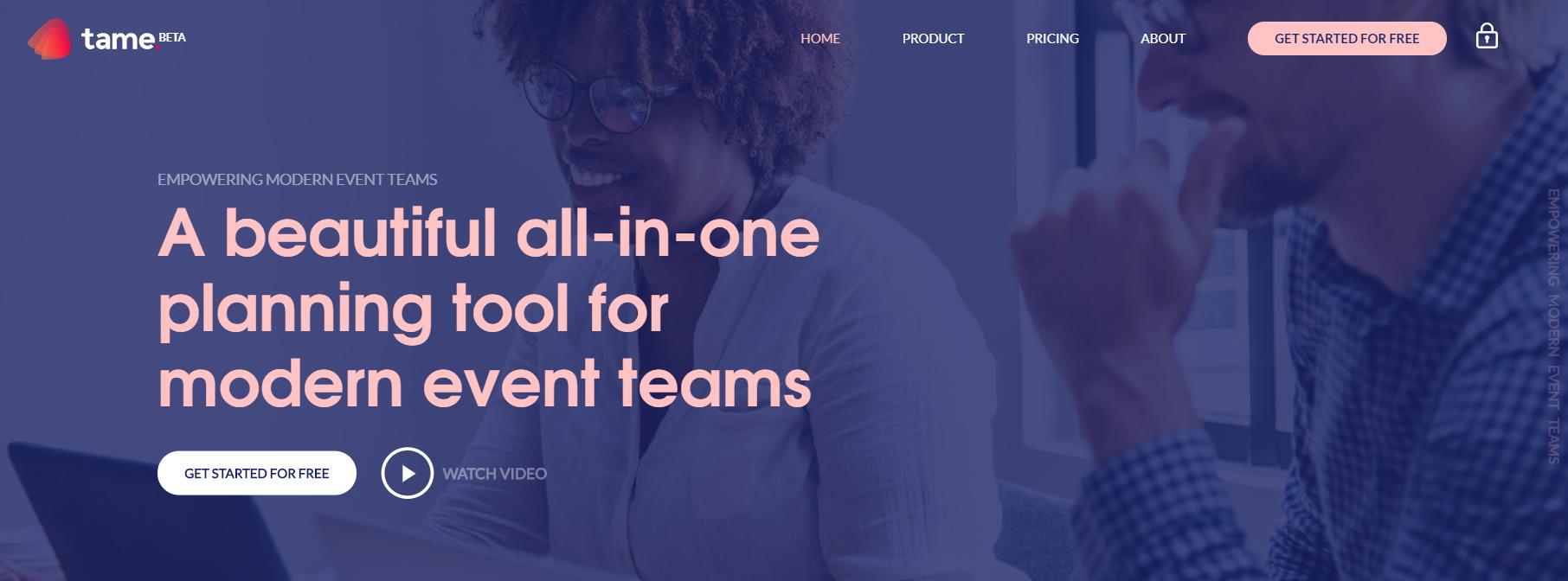 Tame Homepage
