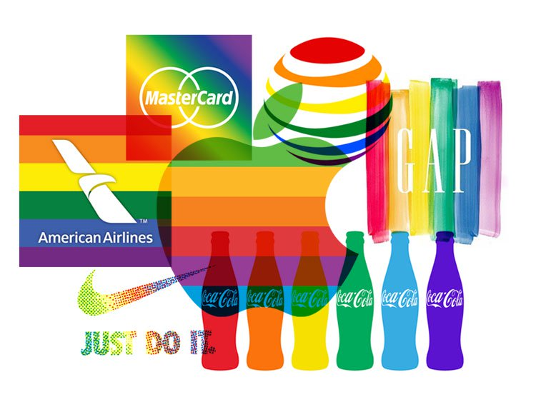 a brief history of pride logos