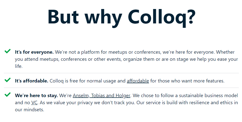 Event Listing Sites Colloq