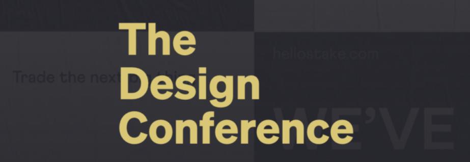 The Design Conference 2020 Australia