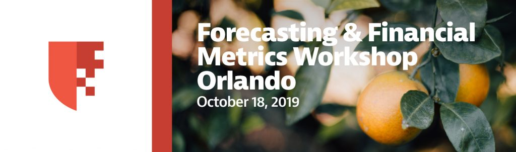 Forecasting and financial metrics workshop