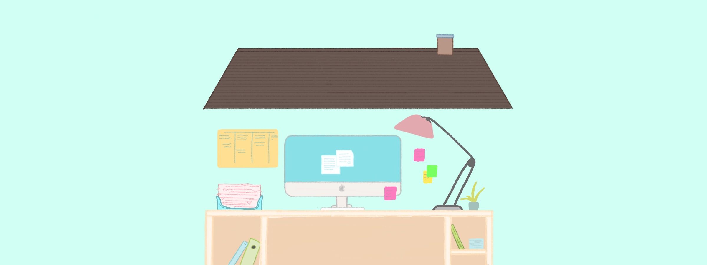 Working from Home Advice Header Image
